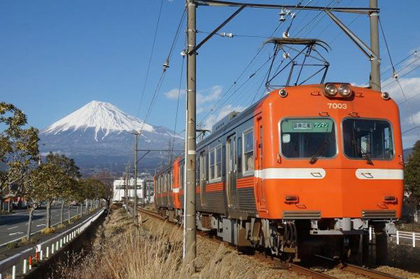 【電車】短くも逞しく。岳南電車の錆びない魅力