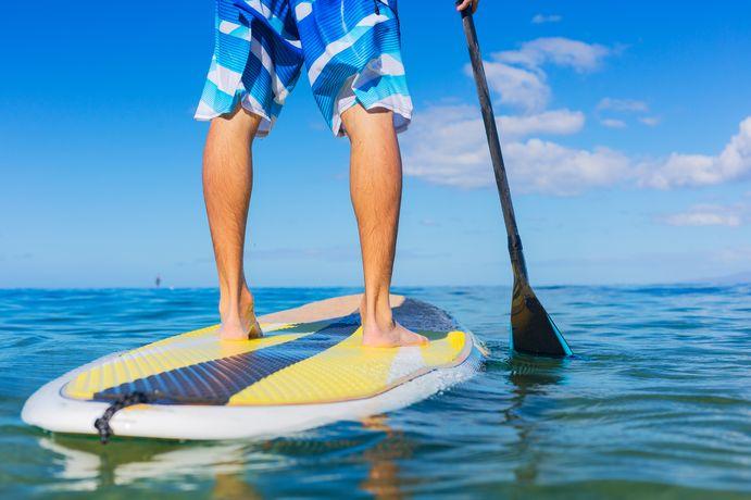 【山中湖】家族で楽しみたいクールな水遊び「SUP(サップ)」とは?