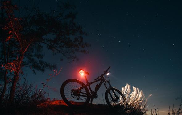 【自転車】星・月の光を浴びて!夜富士も魅力的な「ナイトライド」