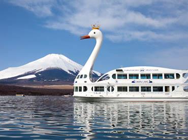 山中湖遊覧船「白鳥の湖」