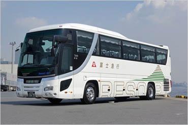 富士山麓を効率よく巡りたい方へ~定期観光バス~