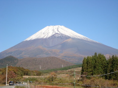 富士山の冬支度