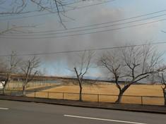 演習場の野焼き