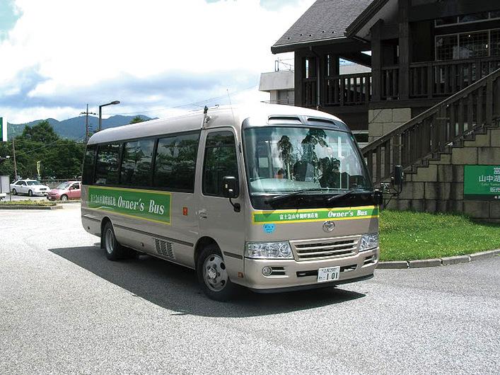 今夏も山中湖エリア 「オーナーズバス」が運行します。