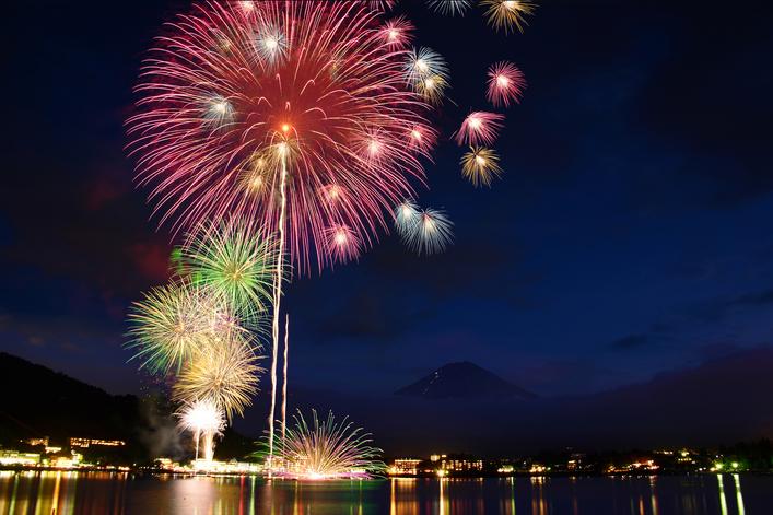 富士五湖 夏祭り