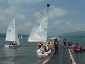 山中湖ヨット教室