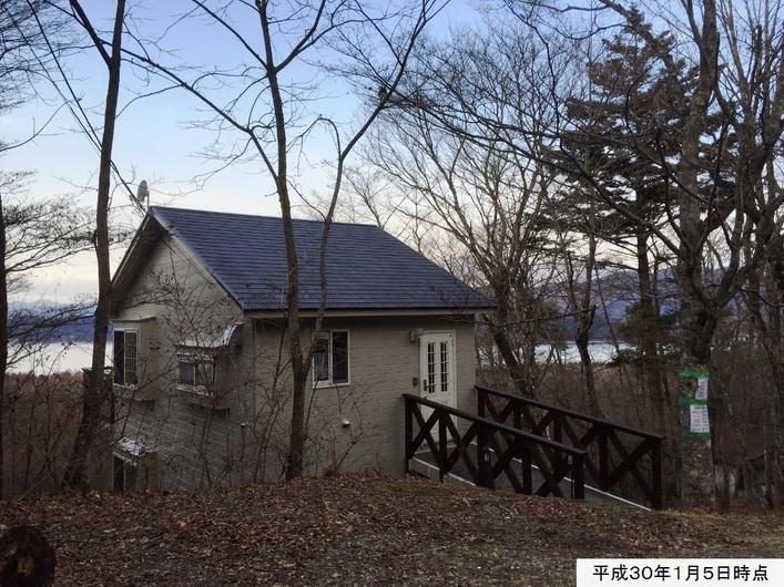 山中湖畔眺望 2LDKリフォーム別荘(1,630万円)のご紹介