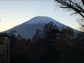 今日の富士山~雲一つない富士山です