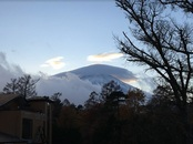 今日の富士山~傘雲