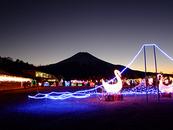 山中湖イルミネーション ファンタジウム開催中