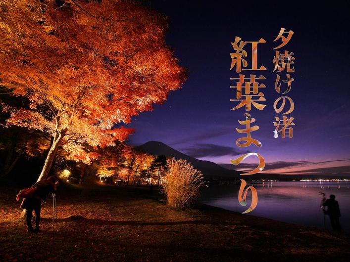 夕焼けの渚 紅葉まつり