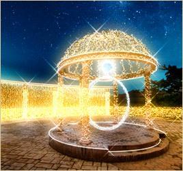 山中湖 ホテルマウント富士「ダイヤモンドイルミネーション」開催