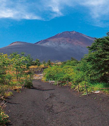 富士山世界文化遺産の構成資産紹介「須山口登山道(現御殿場口登山道)」