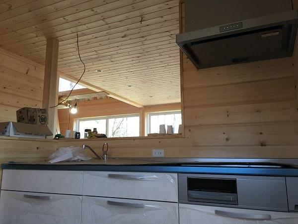 キッチンが入りました。【ScanDHome山中湖・中区旭日丘2】
