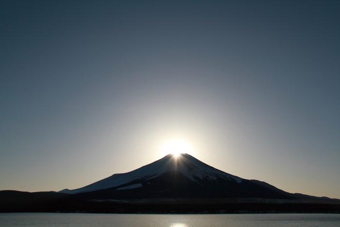 山中湖 ダイヤモンド富士ウィークス